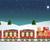 karácsony · vonat · mikulás · játék · ajándékok · hóember - stock fotó © jagoda