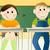 de · volta · à · escola · educação · jovem · estudantes · sorrir · escolas - foto stock © jagoda