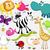 bonitinho · camaleão · ilustração · verde · desenho · animado · lagarto - foto stock © jagoda