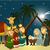 クリスマス · 星 · 漫画 · シーン · 市 - ストックフォト © jagoda