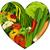 vegetables in heart shape stock photo © jagoda