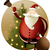 natal · papai · noel · ilustração · neve · decoração · floco · de · neve - foto stock © jagoda