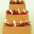 nagy · születésnapi · torta · vektor · étel · buli · boldog - stock fotó © jagoda