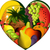fruits in heart shape stock photo © jagoda