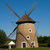 Old windmill in Opusztaszer, Hungary stock photo © jakatics