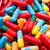 gyógyszeripari · kapszulák · piros · rózsaszín · absztrakt · űr - stock fotó © jakatics