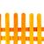 oranje · houten · hek · witte · muur - stockfoto © jakgree_inkliang