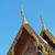 buddhista · templom · tető · templom · Thaiföld · égbolt - stock fotó © jakgree_inkliang