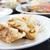 oproep · plaat · restaurant · groene · vlees · bamboe - stockfoto © jakgree_inkliang