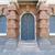 синий · окна · двери · здании · древесины · строительство - Сток-фото © jakgree_inkliang
