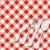 kırmızı · masa · örtüsü · doku · çatal · bıçak · takımı · model · gıda - stok fotoğraf © jamdesign