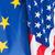 vlag · europese · unie · verf · kleuren · Blauw - stockfoto © jamdesign