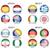 wereld · vlaggen · iconen · collectie · abstract · vector - stockfoto © jamdesign