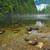 jezioro · skał · mgły · dystans · rock · mglisty - zdjęcia stock © jameswheeler
