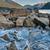 jezioro · lodu · brzegu · górskich · dystans · wody - zdjęcia stock © jameswheeler