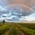 dirt road under a beautiful rainbow stock photo © jameswheeler