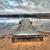 dock on lake with dramatic sky reflection stock photo © jameswheeler