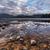 renkli · kayalar · manzara · yansıma · uzak · bulutlar - stok fotoğraf © jameswheeler
