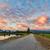 çakıl · yol · şaşırtıcı · bulutlar · üzerinde · manzara - stok fotoğraf © jameswheeler