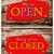 fermé · signe · magasin · fenêtre · affaires · noir - photo stock © janaka