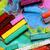 wosk · kredki · wyobraźnia · dramatyczny · widmo · kolorowy - zdjęcia stock © janaka