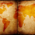 vintage · mapa · do · mundo · papel · mapa · mundo · arte - foto stock © janaka