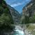 rivière · alpes · Suisse · eau · pont · bleu - photo stock © janhetman