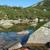 étang · montagnes · Pologne · République · tchèque · eau · vert - photo stock © janhetman