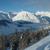 alpes · Italie · ville · vallée · hiver · ciel - photo stock © janhetman
