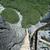 escaliers · sentier · bois · eau · forêt · montagnes - photo stock © janhetman