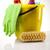 nettoyage · équipement · travaux · maison · bouteille · rouge - photo stock © JanPietruszka