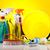 casa · plastica · bottiglie · detergente · spugna - foto d'archivio © janpietruszka
