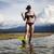 island woman and diving bright colorful vivid theme stock photo © janpietruszka