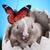 мало · Кролики · три · красный · корзины · фон - Сток-фото © janpietruszka
