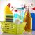 schoonmaken · product · zeep · spons · geïsoleerd - stockfoto © janpietruszka