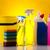 limpeza · equipamento · trabalhar · casa · garrafa · vermelho - foto stock © JanPietruszka