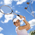 playing tennis natural colorful tone stock photo © janpietruszka