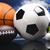 スポーツ · サッカー · 夏 · オレンジ · テニス - ストックフォト © janpietruszka