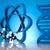 dna molecules atom laboratory glassware stock photo © janpietruszka
