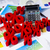 yüzde · doğal · renkli · imzalamak · kırmızı · finanse - stok fotoğraf © JanPietruszka