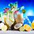 alkohol · italok · szett · buli · gyümölcs · étterem - stock fotó © janpietruszka