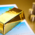 gold bars with a linear graph ambient financial concept stock photo © janpietruszka