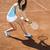 jogar · tênis · mulher · vida · jovem · pessoa - foto stock © JanPietruszka