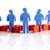 travail · d'équipe · personnes · icônes · résumé · hommes · groupe - photo stock © janpietruszka