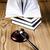 rechter · advocaat · rechter · object · hamer · veiling - stockfoto © JanPietruszka