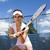 oynama · tenis · kadın · hayat · genç · kişi - stok fotoğraf © janpietruszka