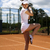 Young woman playing tennis, natural colorful tone stock photo © JanPietruszka