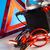 autó · elem · kettő · kábelek · élénk · moto - stock fotó © janpietruszka