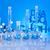 molekuláris · laboratórium · üveg · terv · háttér · felirat - stock fotó © janpietruszka