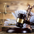 gavellaw theme mallet of judge stock photo © janpietruszka